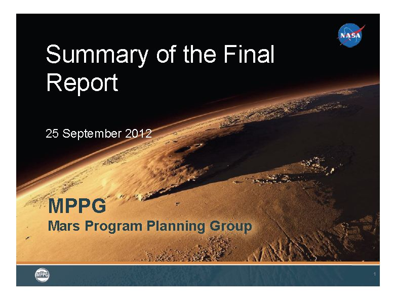 Finally… A Mars Sample Return Mission?
