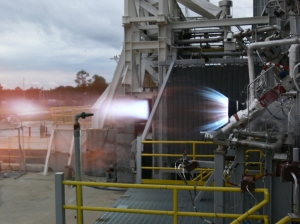 Blue Origin Completes Engine Test