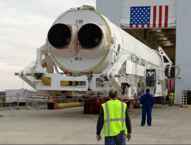 Orbital Sciences Commences Antares Operations