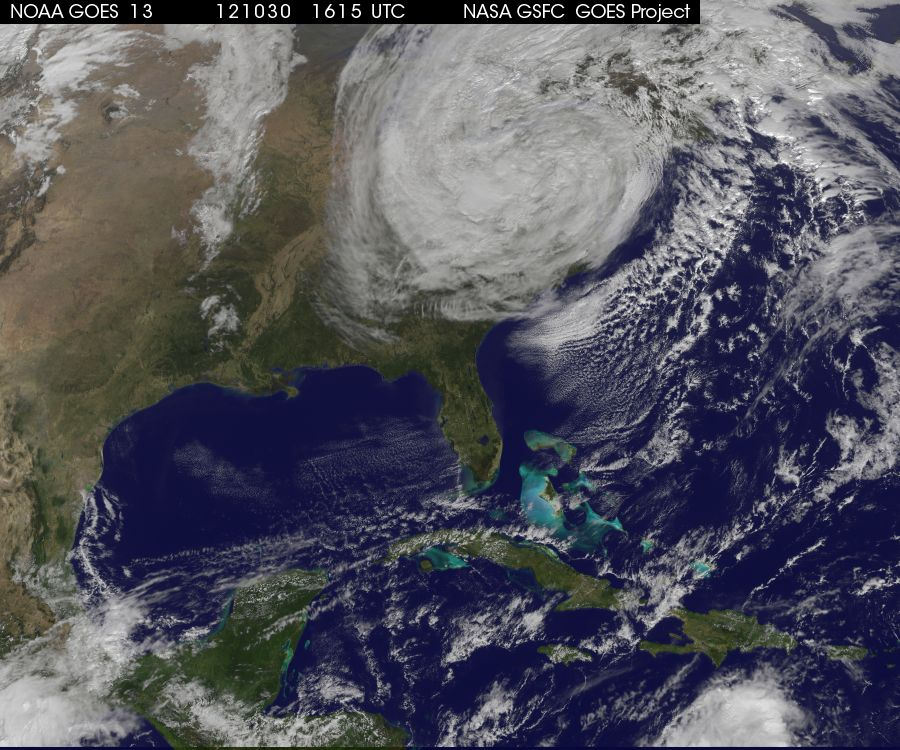 Hurricane Sandy and the U.S. Weather Satellite Program