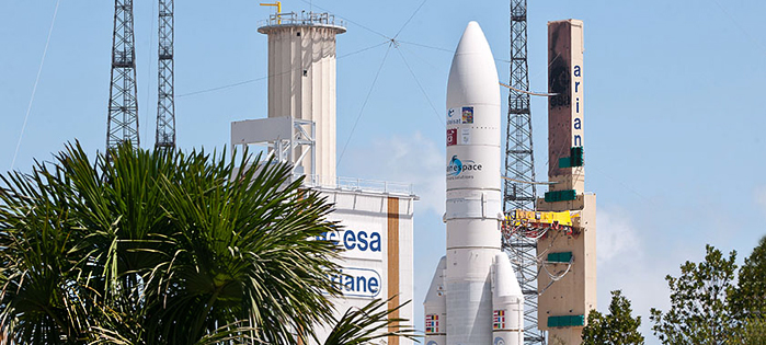 Ariane V Launch Today (Again)