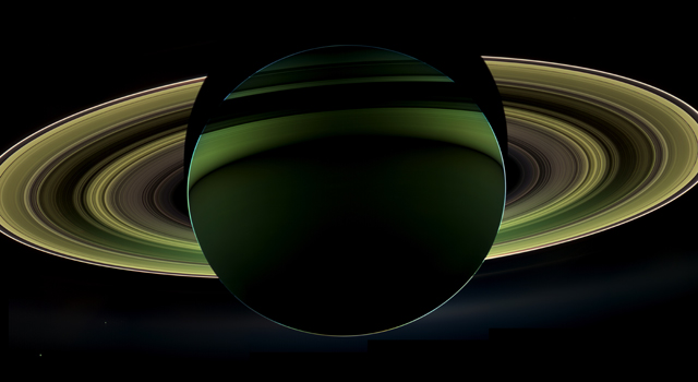 Cassini Captures Saturn in All its Glory