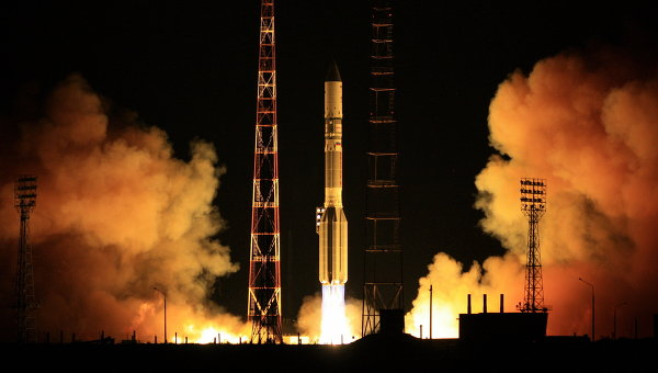 Proton Puts Gazprom Satellite in Wrong Orbit