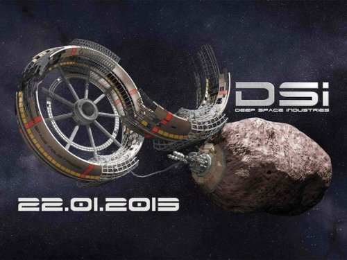 Deep Space Industries Introduced Today