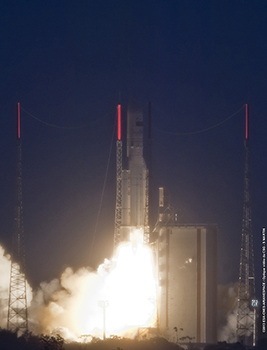 First Ariane V of 2013 Lifts off From South America