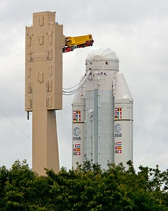 Next Ariane V / ATV Mission Prepares for Final Assembly