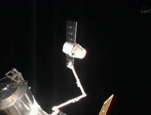 Dragon Released From ISS