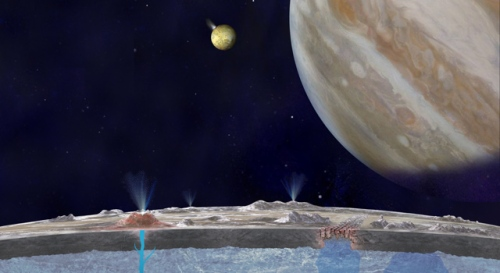 Europa: A Salty Piece of Land?Credit : JPL