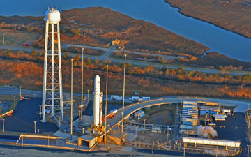 Update : Antares First Attempt Scrubbed, Next Opportunity on Friday