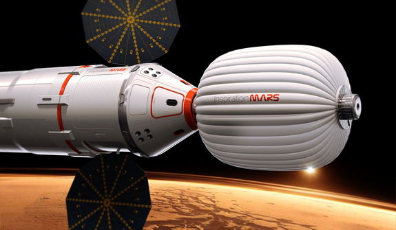 Inspiration Mars FISO Presenation : No Pressure for SLS