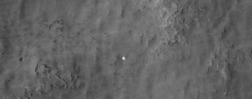 Ghost of Mars? Credit :  NASA / JPL/ University of Arizona