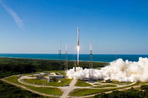 Atlas V Boosts GPS IIF Satellite to Orbit