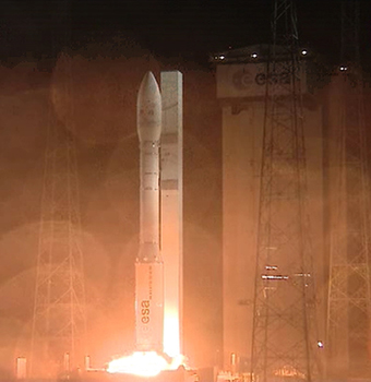 Liftoff ! Credit : Arianespace