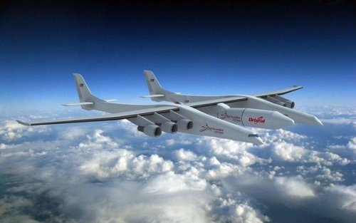 Flying the Wrong Way? Credit :  Stratolaunch
