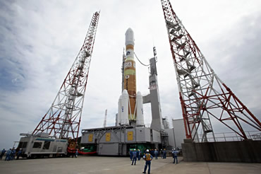 HTV-4 Ready for Launch to ISS Today