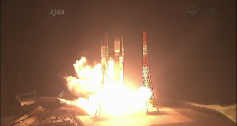 After a Perfect Liftoff, HTV-4 Heads for Station