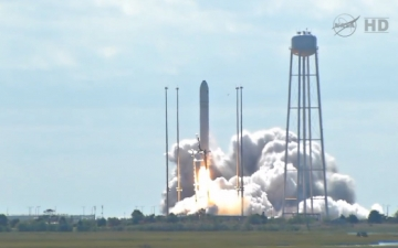 Antares Conducts Flawless Launch on Way to ISS
