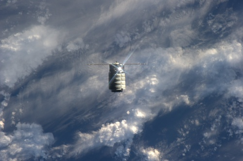 Cygnus on Approach Credit : NASA