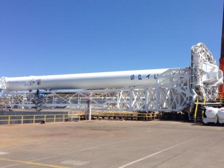 Falcon 9 v.1.1 at Vandenberg Credit : Elon Musk