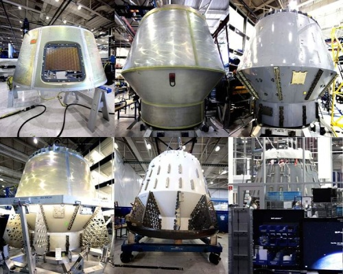 A Six Pack from SpaceX