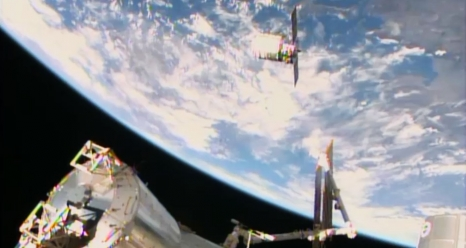 Cygnus Begins Station Stay