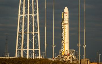 Antares Awaits Credit : NASA