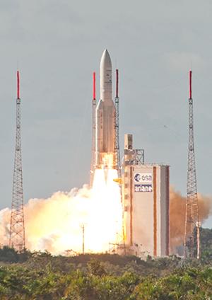 Ariane V Credit : Arianespace