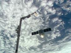 Cygnus Departs ISS